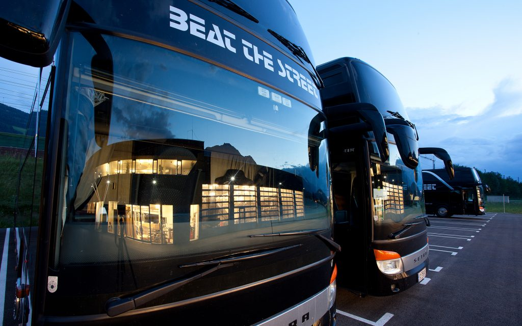 Beat the Street - Band & Crew Bussing