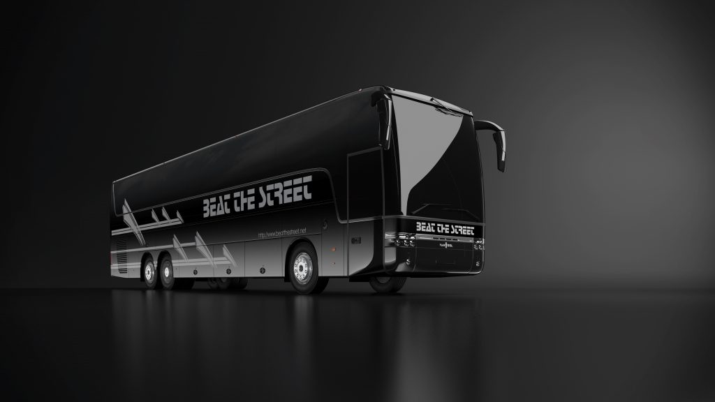 Beat the Street - VanHool Hospitality Day Coach