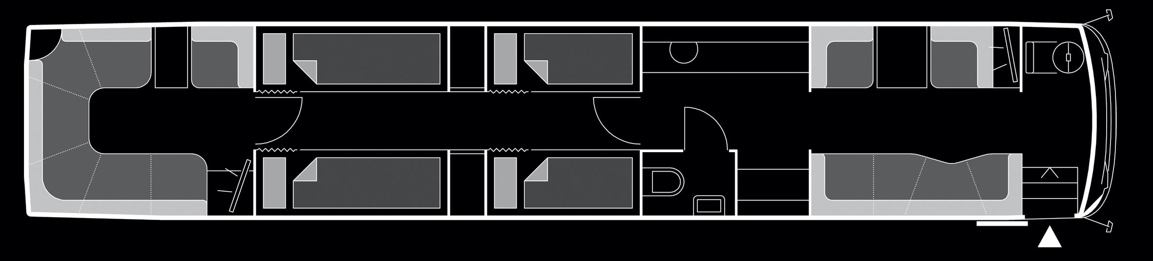 Beat the Street - VanHool Superhighdeckers Floor Plan