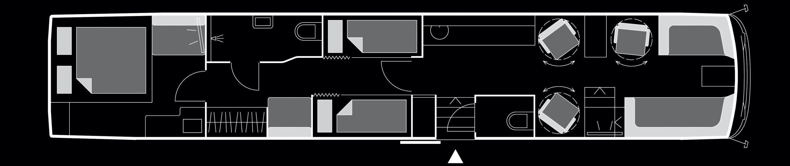 Beat the Street - VanHool Superhighdeckers Starbus Floor Plan